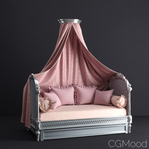 Princess Daybed with Trundle