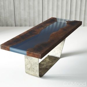 Resin Epoxy Table