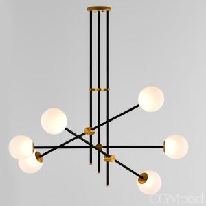 Vector chandelier lampatron
