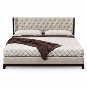 Bellavista - Nisha wood tuft bed