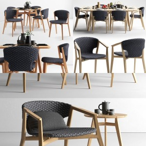 Ethimo Knit furniture collection