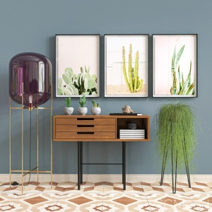 Modern Console Decoration (interior Design & Home)