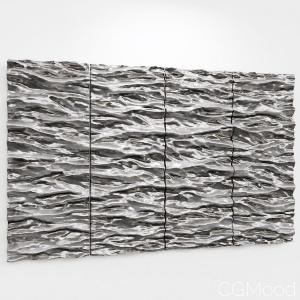 Simonallen Sculptor Seascape  4panels