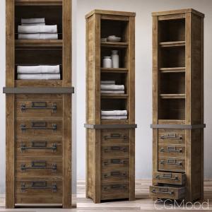 Mercantile Tall Bath Cabinet