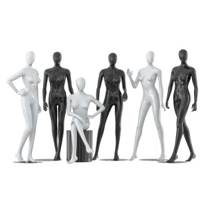 Collection Of Five Faceless Female Mannequins 29
