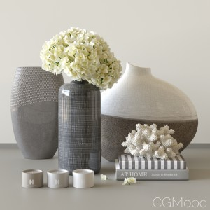 Decorative set by Kelly Hoppen