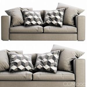 Boconcept Cenova Chaise Lounge