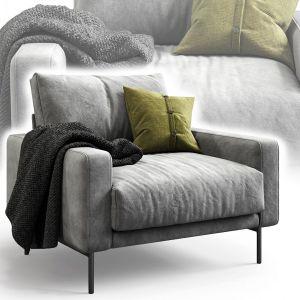 B&t Design Sofa Piu Single