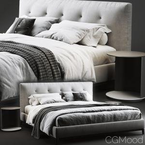 Minotti Andersen Quilt Bed