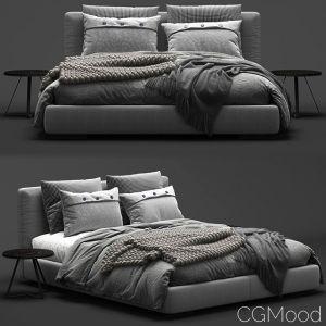 Flexform Magnum Bed