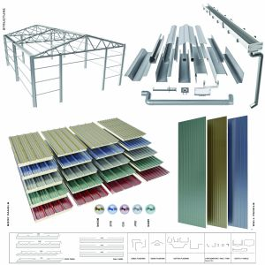 Sloped Roof- Sandwich Panel