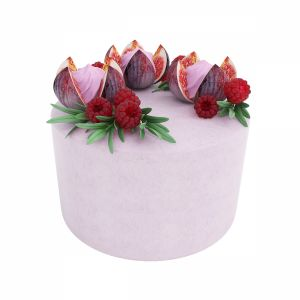 Violet Fig Cake