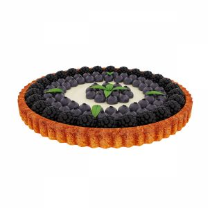 Blackberry Blueberry Tart