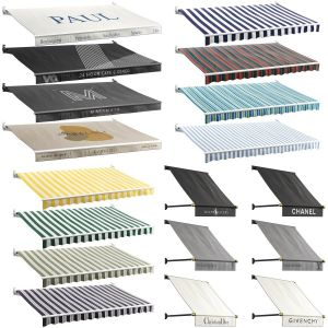 Awnings Collection For Cafe And Boutiques