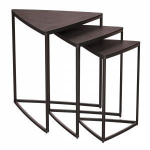 River Antique Rust Nesting Tables