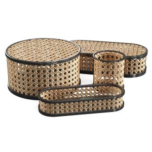 Rattan Storage Containers