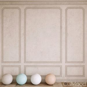 Decorative Plaster And Molding 4 Colors