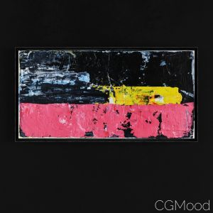 Abstract Painting #12 By Simon George
