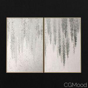 Silver-wisteria Frame