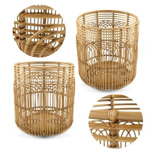 Large Naga Rattan Baskets