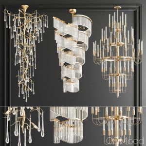 Big Chandeliers Collection - 3 Type