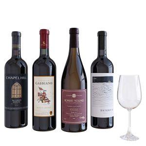 Wine Bottle Set 6