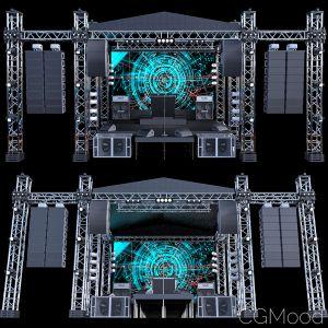 Mini Concert Stage