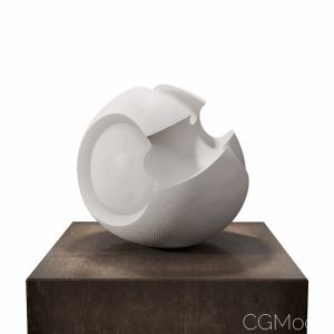 James Oughtibridge White Convex Form
