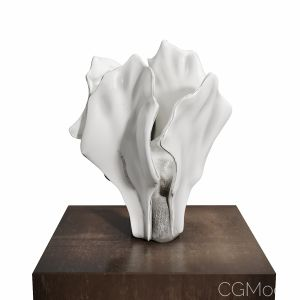 Shoko Koike White Form A 2018 Sculpture