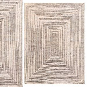 Ellipse Hand-knotted Wool Rug