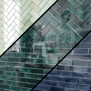 "3 ""x8"" Subway Tile Mercury Mosaics"