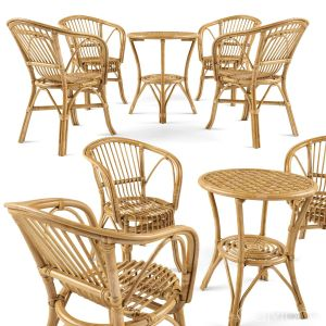 Garden Rattan Furniture Set 2