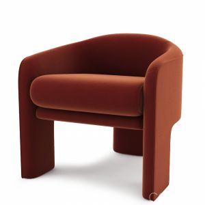 Modern Retro Lounge Chair By Vladimir Kagan Wei