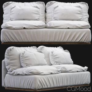 Noha Sofa-white