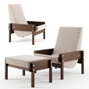 Vronka Lounge Armchair By Espasso
