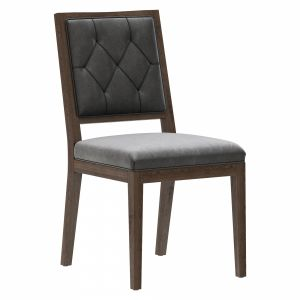Restoration Hardware French Tufted Square Chair