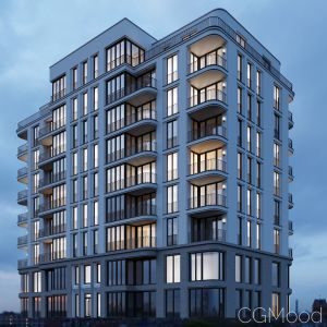 Modern Residential Building 4