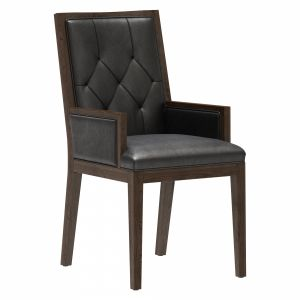Restoration Hardware French Tufted Square Armchair