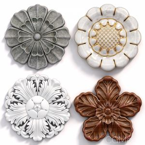 Decorative Wall Rosettes 05