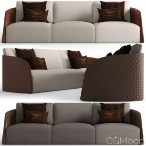 Bentley Home Swan Sofa
