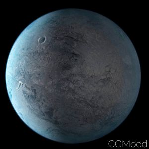 Eris Fictional World Planet