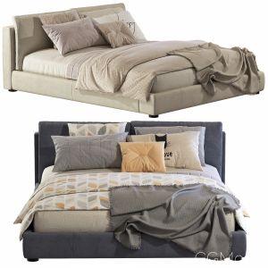 Bed MASSIMOSISTEMA BED / Poltrona Frau Set 66