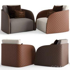 Bentley Home Swan Armchair