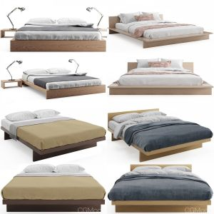 Wooden Beds Collection Vol.01