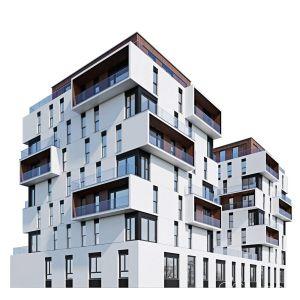 Modern Residential Building 5