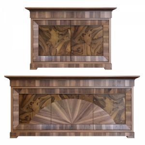 Cherry Wood Sideboard By Morelato
