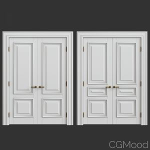 Interior classic doors  Set 42