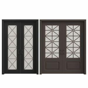 Classic entrance doors Set 47