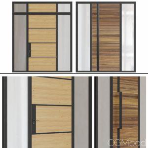 Modern entrance doors Set 51