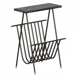 Bromley Magazine End Table